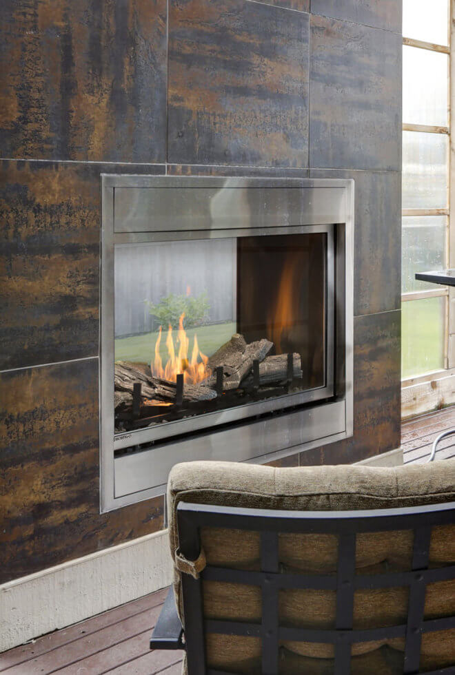Cleaning care montigo for Contemporary ventless fireplace