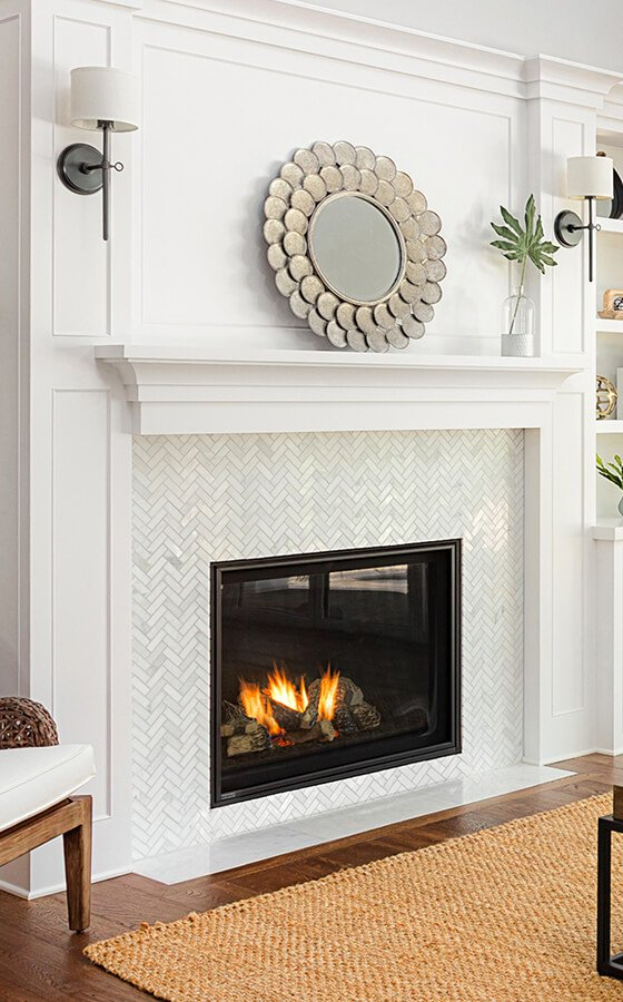 Pleasant Residential Fireplaces Montigo Beutiful Home Inspiration Ommitmahrainfo