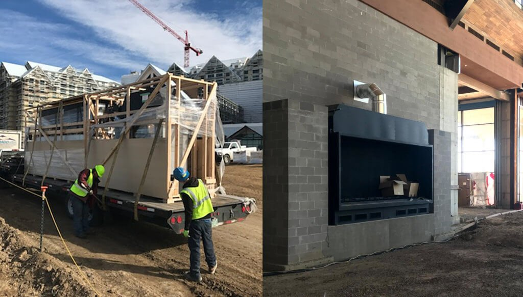 Gaylord Rockies Resort - Fireplace Delivery